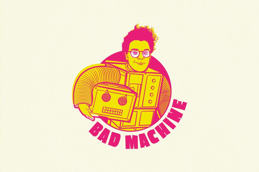 Bad Machine – Logo & Hero Image