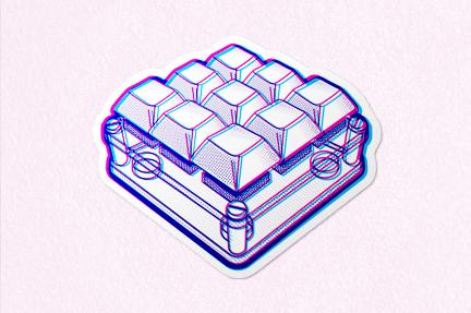 Qlavier – 3 by 3 Ortho Keypad